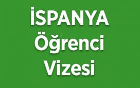ispanya öğrenci vizesi