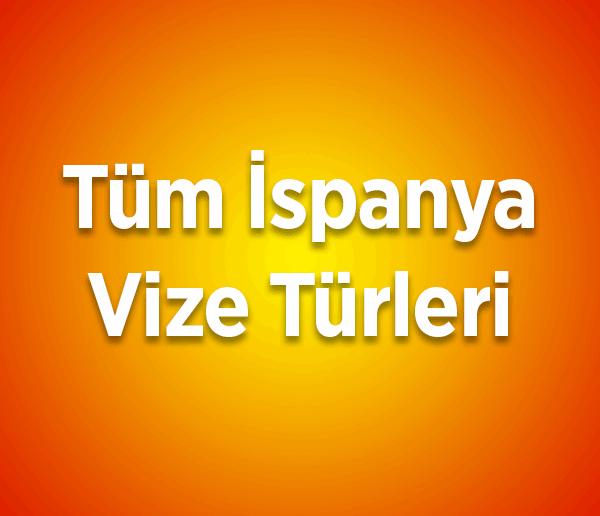 ispanya vize türleri